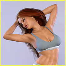 Z Voluptuous Beauty - Poses for the Genesis 8 Females image 2