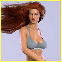 Z Voluptuous Beauty - Poses for the Genesis 8 Females image 3