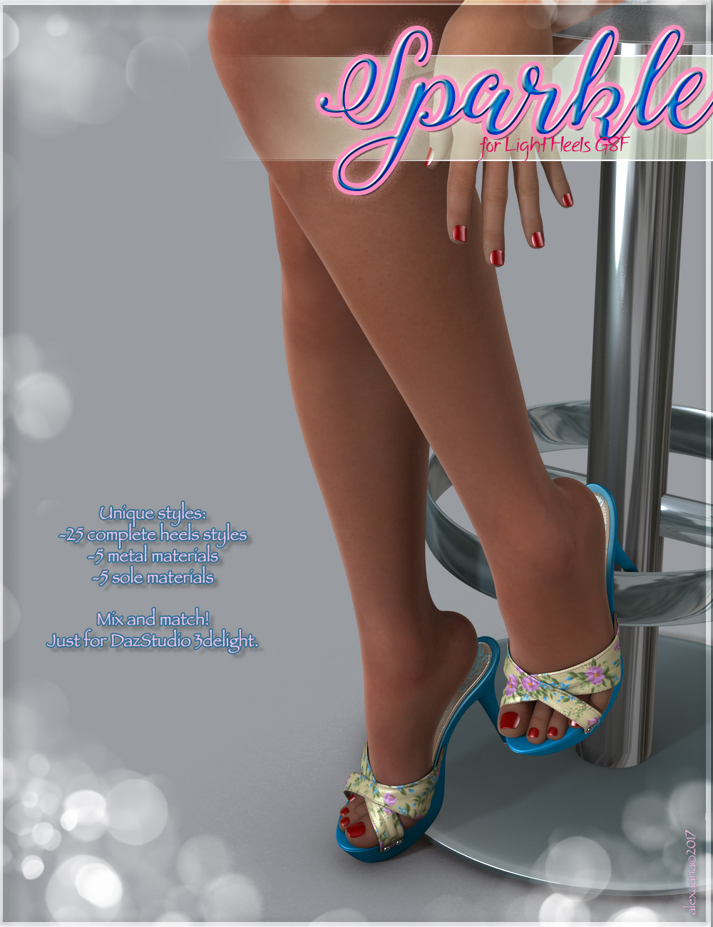 Sparkle Light Heels G8F
