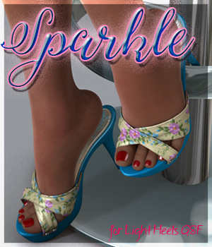 Sparkle Light Heels G8F 3D Figure Assets alexaana