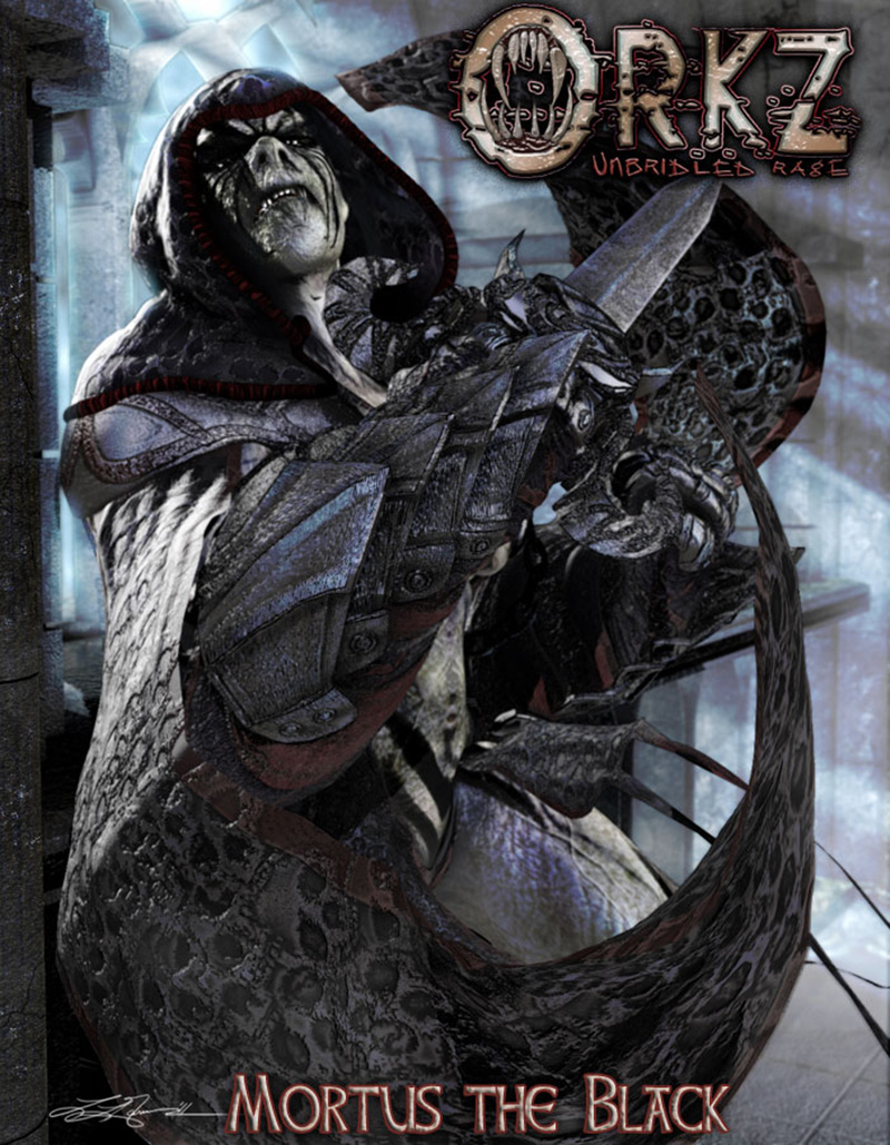 SheOrkz: Mortus the Black