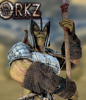 SheOrkz: Frontal Assault 3D Figure Assets sixus1
