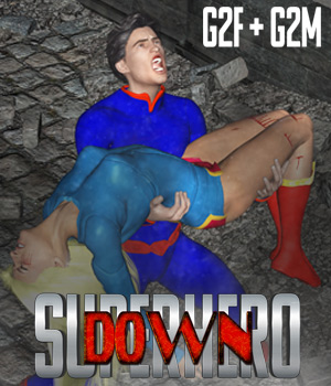 SuperHero Down for G2F and G2M Volume 1