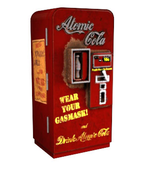 Atomic Cola Machine For DS 3D Models FireForged3D