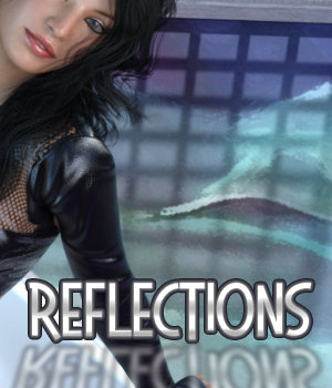 Reflective Floor Prop & Shaders 3D Figure Assets 3DSublimeProductions
