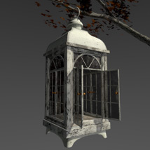 Autumn lamp image 2