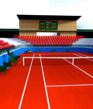 Tennis Stadium 3D Models Martesarte