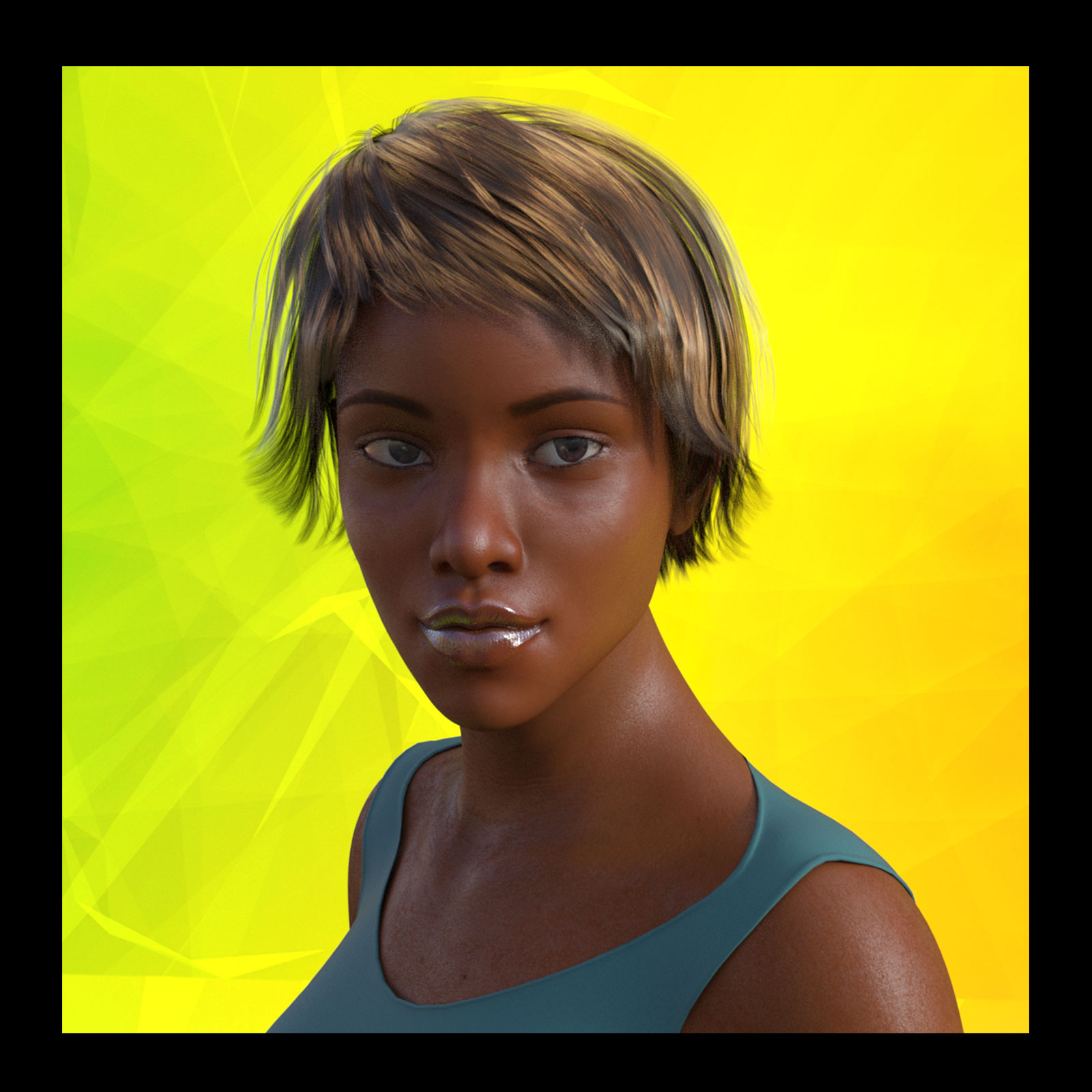 African Female Faces Morphs for Genesis 3 Female