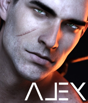 Alex for Genesis 3 Male 3D Figure Assets sithlordsims