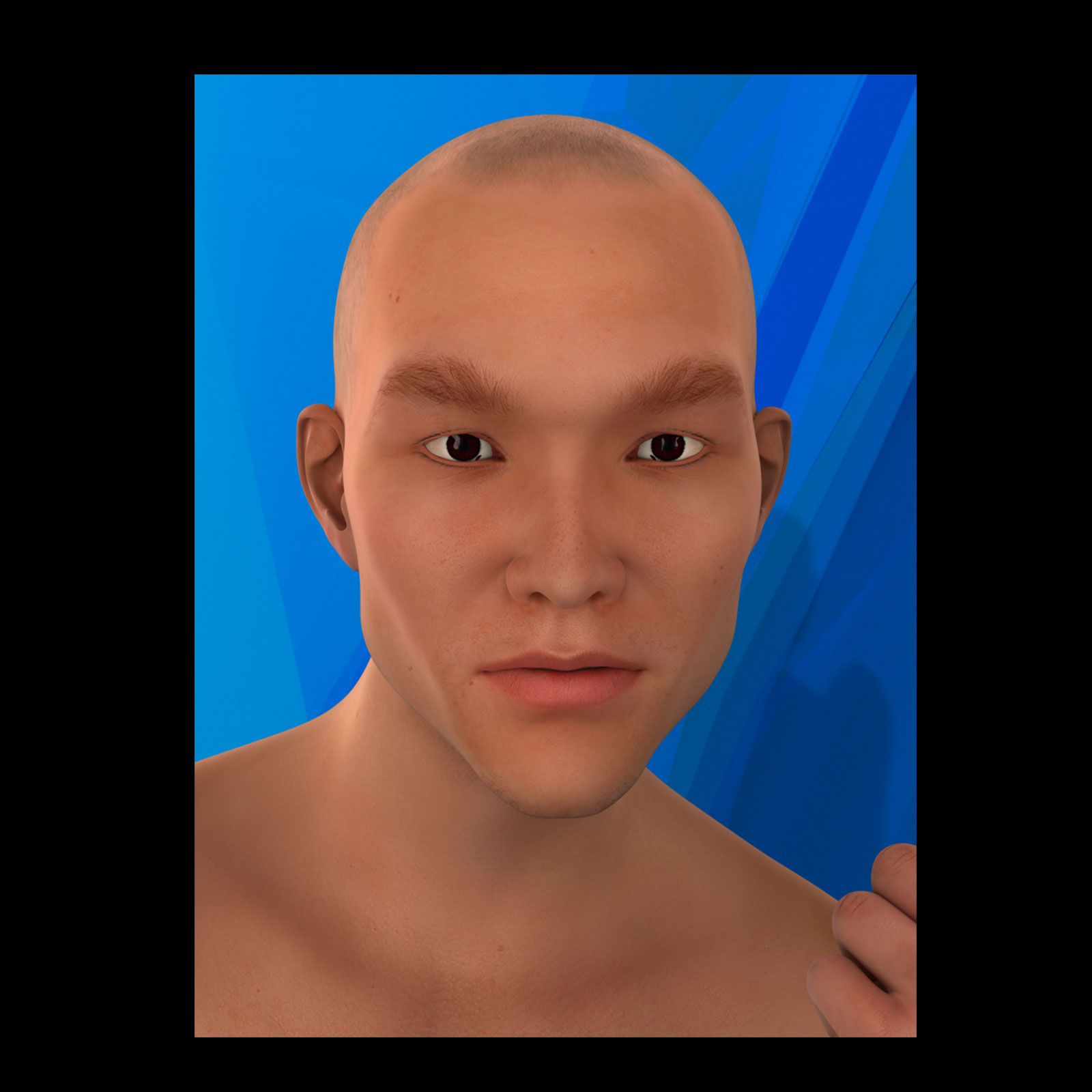 Asian Male Faces Morphs for Genesis 3 Male by biala