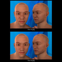 Asian Male Faces Morphs for Genesis 3 Male image 1