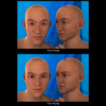 Asian Male Faces Morphs for Genesis 3 Male image 2