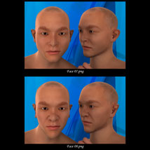 Asian Male Faces Morphs for Genesis 3 Male image 4