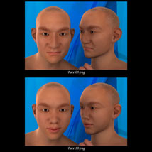 Asian Male Faces Morphs for Genesis 3 Male image 5