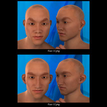 Asian Male Faces Morphs for Genesis 3 Male image 6