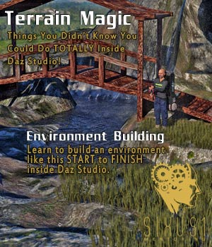 Sixus1 Mentoring Week 05: Terrain Magic for Daz Studio Tutorials : Learn 3D Disciple3d