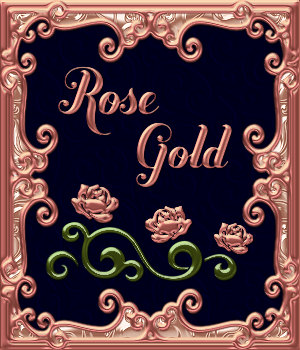 Bling! Rose Gold PS Layer Styles 2D Graphics Merchant Resources fractalartist01