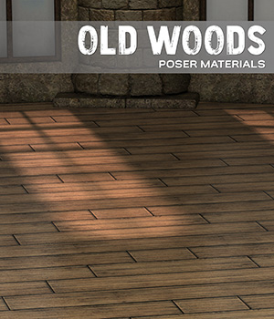 Poser - Old Woods 2D Graphics Merchant Resources Atenais