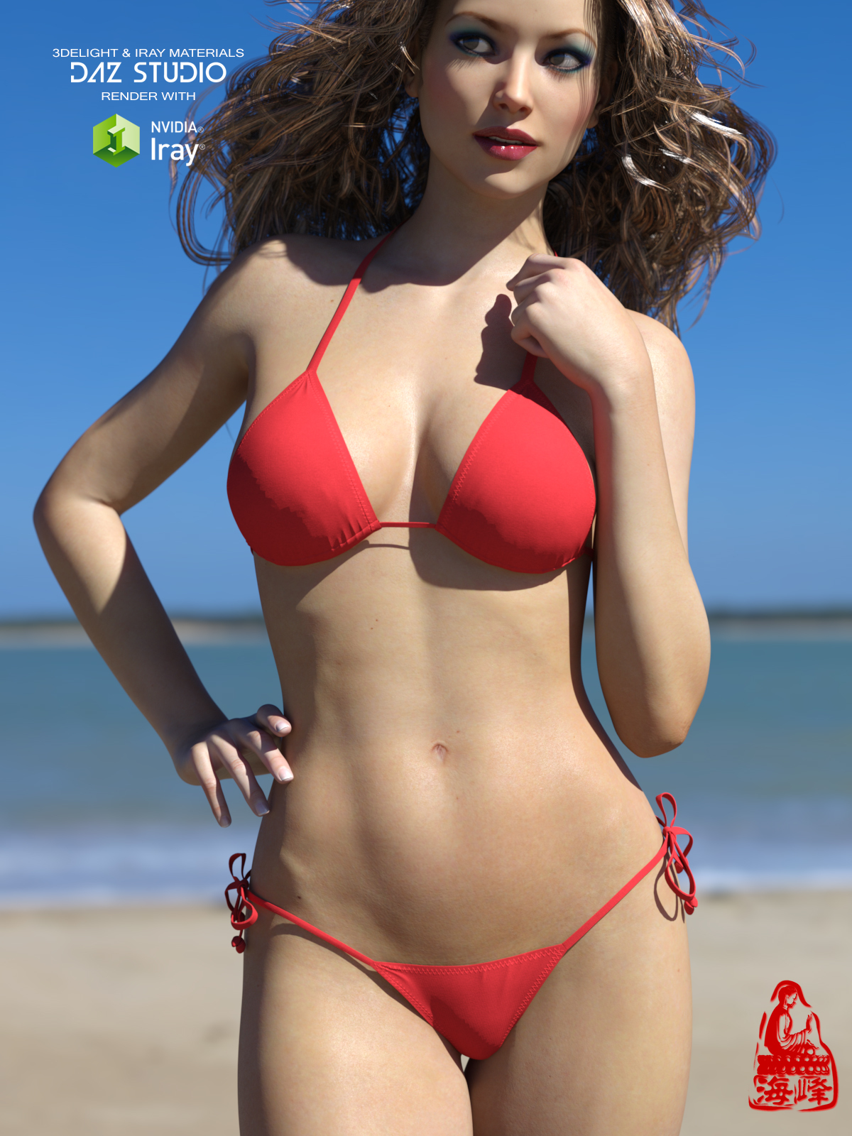 BIKINI for Genesis 3 Females