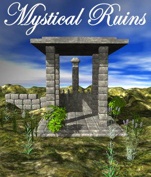 Mystical Ruins 3D Models JeffersonAF