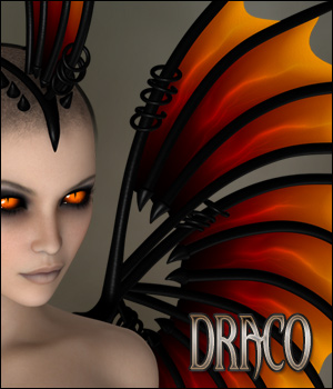 Draco - Wings and more 3D Figure Assets 3D Models digiPixel