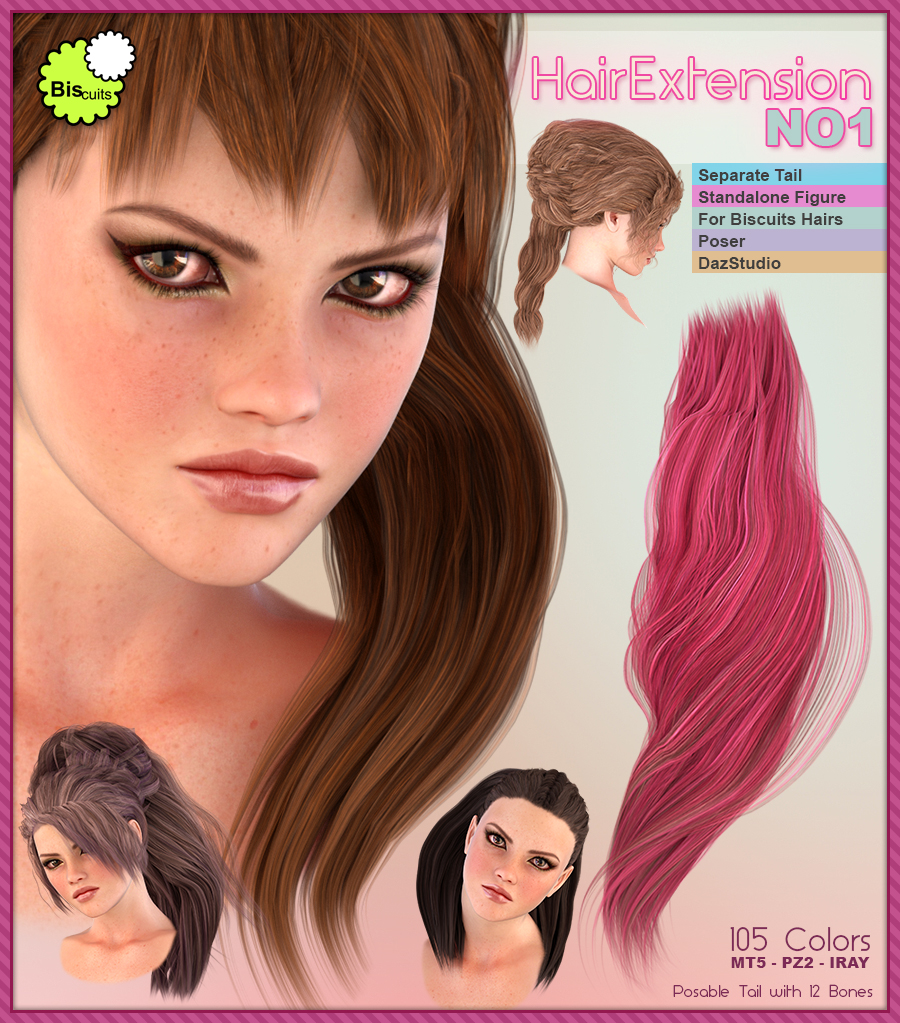 Biscuits HairExtension NO1