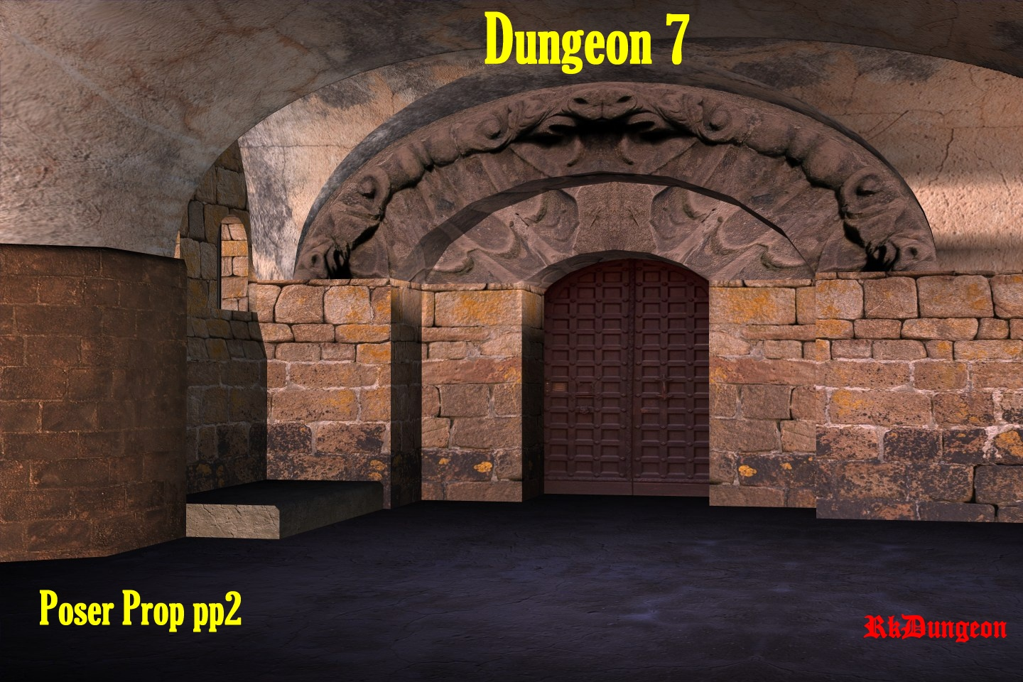 Dungeon 7 by kawecki