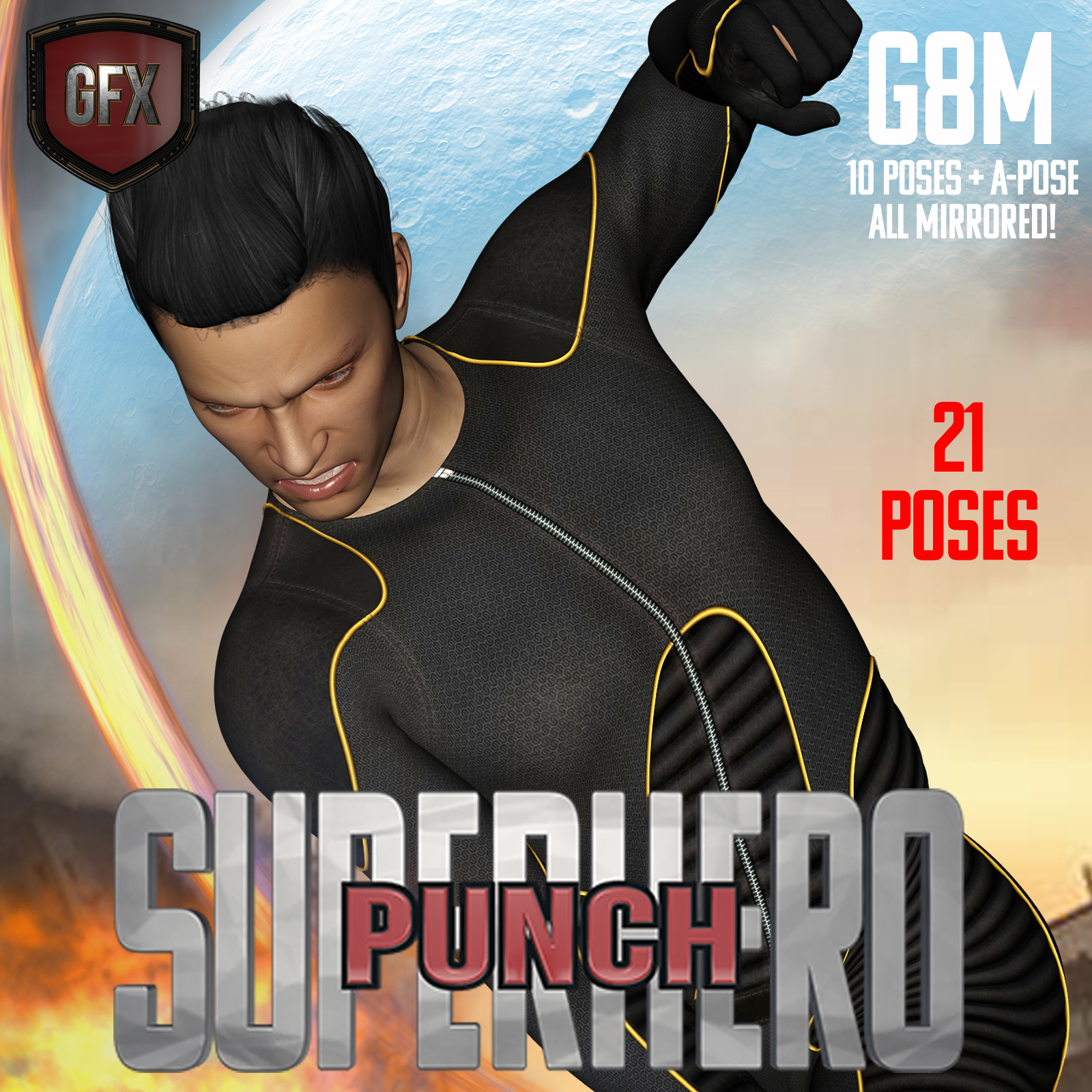 SuperHero Punch for G8M Volume 1 by GriffinFX
