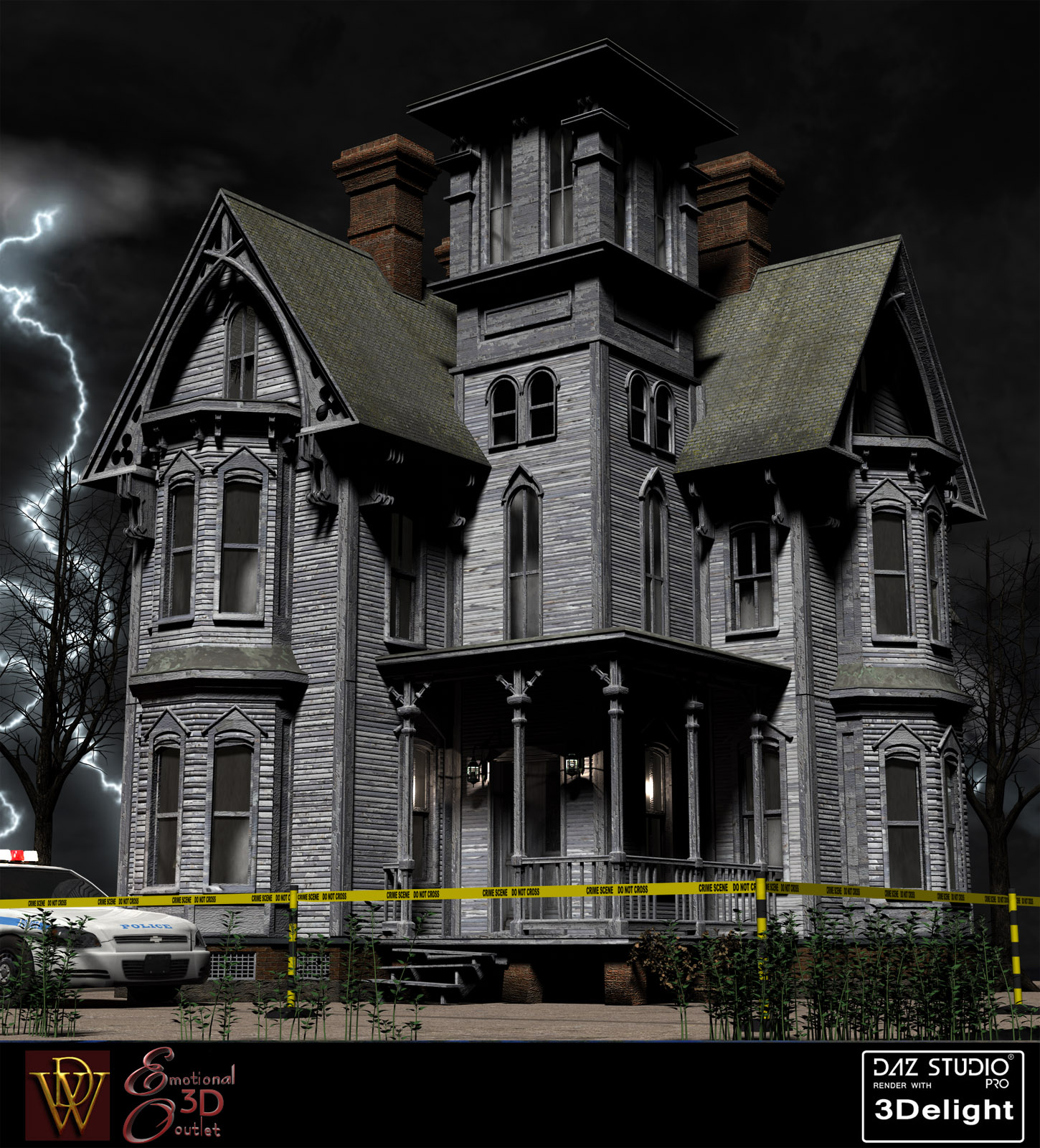 Haunted and New Victorians for DAZ Studio