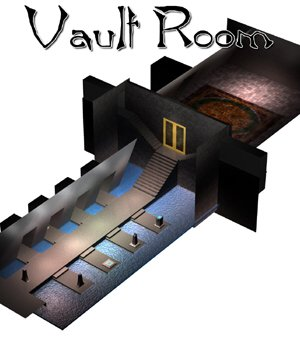 Vault Room (for Poser) 3D Models VanishingPoint