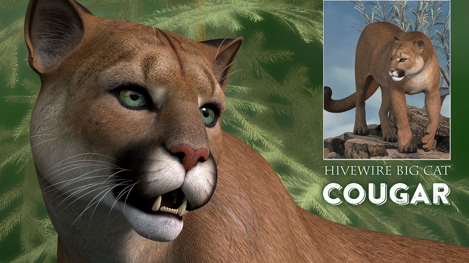 HiveWire Cougar by HiveWire3D