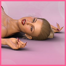 Z Pinup Madness - Poses and Expressions for the Genesis 8 Females image 5