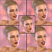 Z Pinup Madness - Poses and Expressions for the Genesis 8 Females image 7