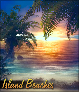 Island Beaches 2D Graphics Sveva