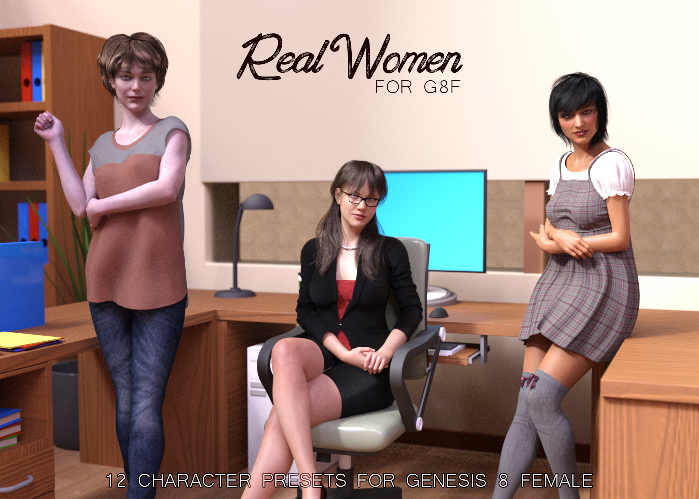 Real Women for G8F by AliveSheCried
