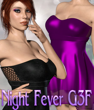 Night Fever G3F 3D Figure Assets kaleya