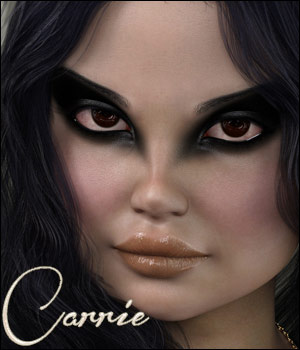 Carrie for G8F and G3F 3D Figure Assets TwiztedMetal