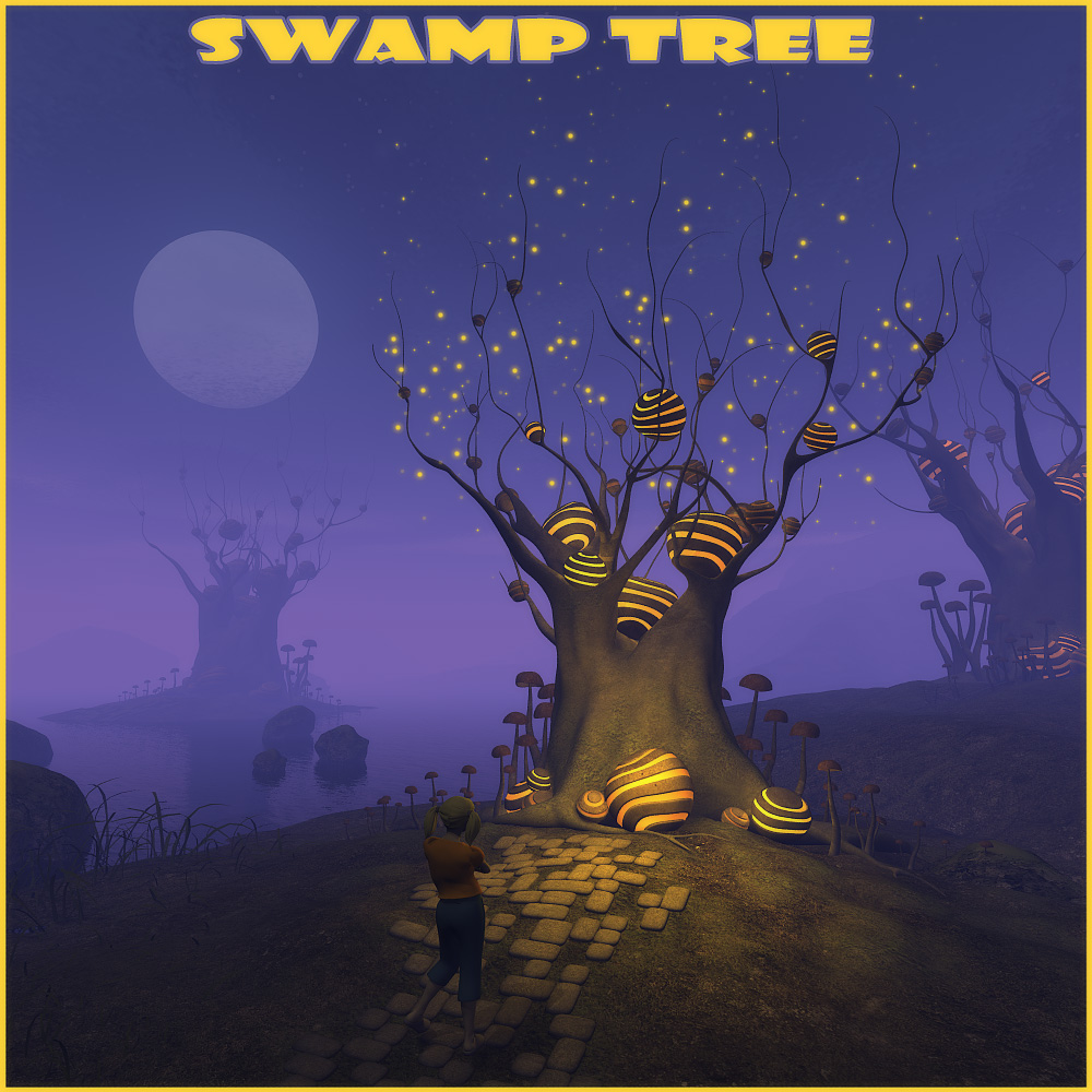 Swamp tree by 1971s