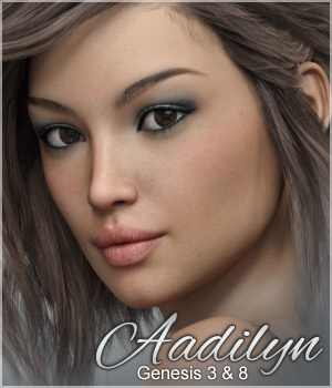 Sabby-Aadilyn for Genesis 3 and Genesis 8 3D Figure Assets Sabby