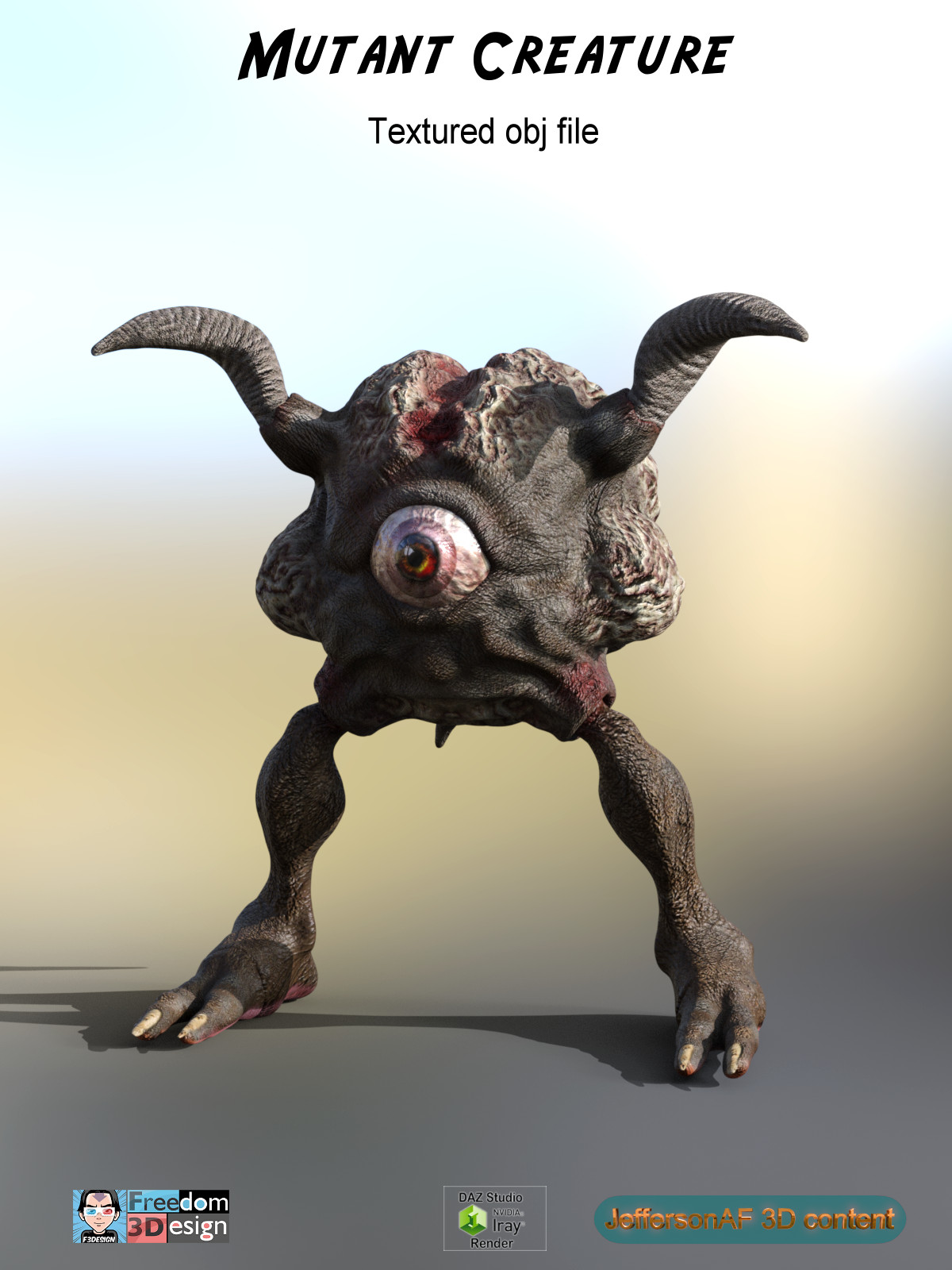 Mutant Creature - Extended License
