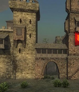 Walls-Towers - Extended License 3D Game Models : OBJ : FBX 3D Models Extended Licenses dexsoft-games