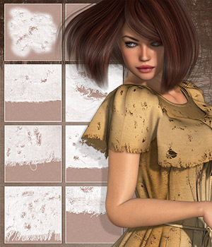 Ripped Fabrics - Extended License 2D Graphics Merchant Resources Extended Licenses Atenais
