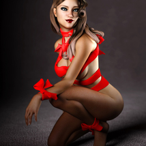 Ribbon Outfit for Genesis 3 Female image 7
