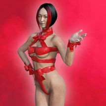 Ribbon Outfit for Genesis 3 Female image 8
