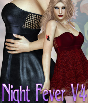 Night Fever V4 3D Figure Assets kaleya