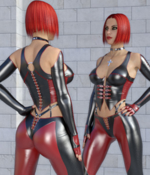 Bad Girl Outfit for Genesis 8 Female(s) 3D Figure Assets Ishbo