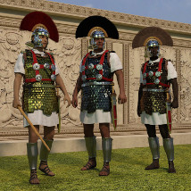 Centurion and Aquilifer for Genesis 3 Male image 3
