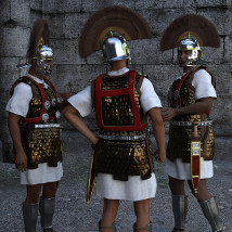 Centurion and Aquilifer for Genesis 3 Male image 4