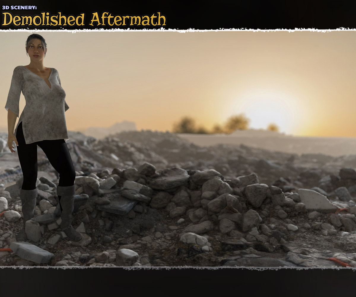 3D Scenery: Demolished Aftermath