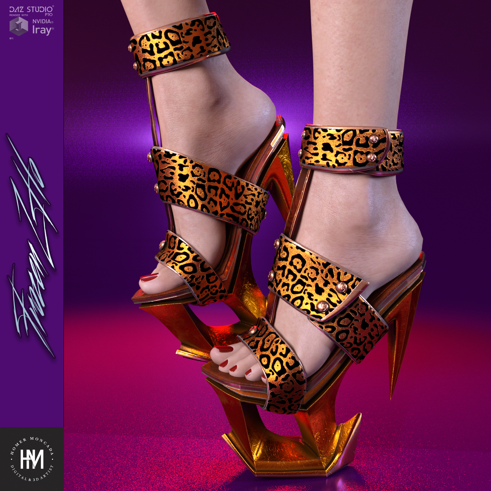 FrozenZHo Platform Heels for GF3